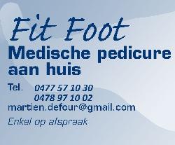 Afbeelding › Fit Foot Pedicure aan huis.